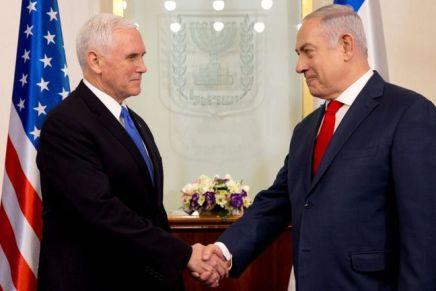 Netanyahu rencontrera Pence et Pompeo cette semaine à Varsovie à la conférenceaméricaine
