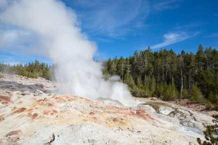 Certains geysers du parc de Yellowstone connaissent un regaind'activité