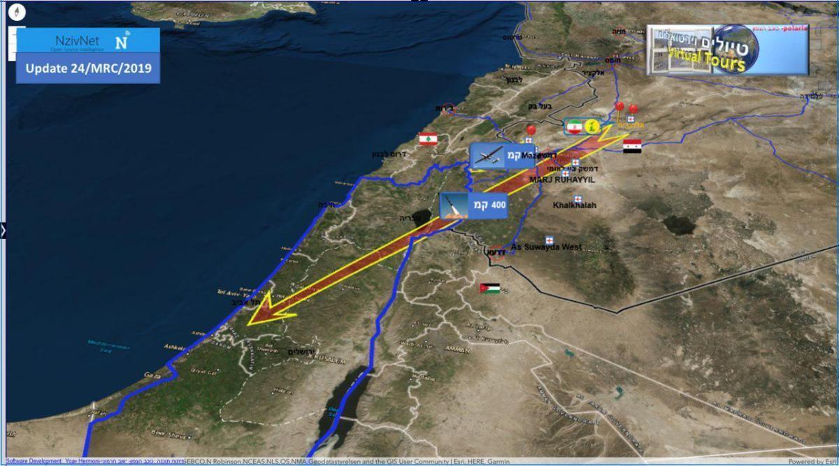 Sous le nez de Tsahal, l'Iran s'est armé avec puissance, prêt à attaquer à moins de 50 km d'Israël