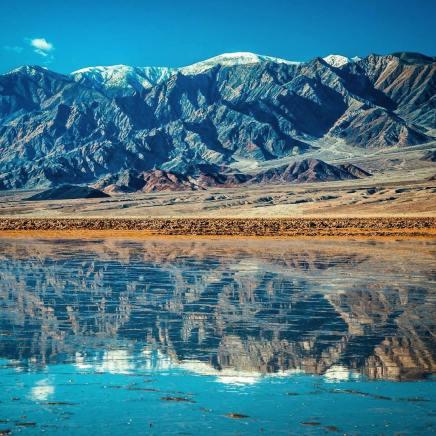 Un immense lac s'est formé dans le désert de la vallée de laMort
