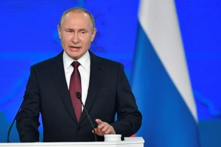 Poutine suspend officiellement la participation de la Russie au traitéINF