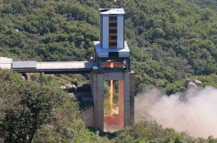 Pyongyang «reconstruit» un site de lancement de fusées (cabinetaméricain)