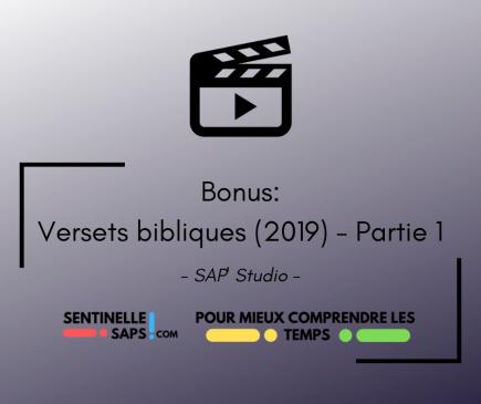 Bonus : Versets bibliques 2019 – Partie1