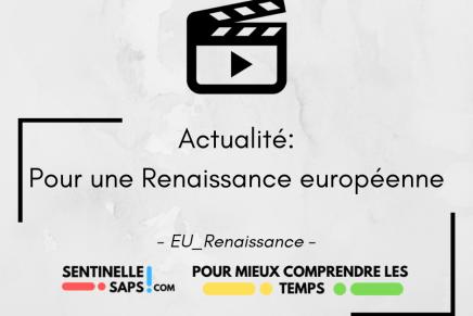 Pour une Renaissanceeuropéenne