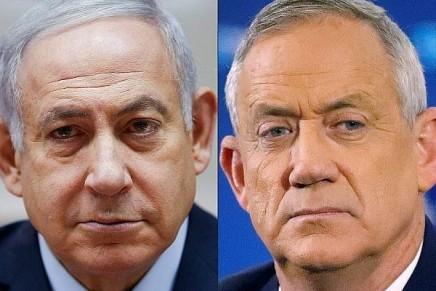Ex-aequo entre Gantz et Netanyahu, le système législatif donne avantage auLikud