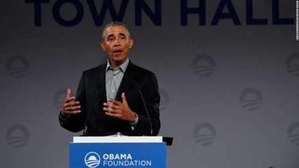 L'ancien président Obama souligne l'importance de l'OTAN et affirme que les petits pays demandent des comptes aux grandspays.