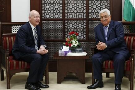 L'envoyé US au Proche-Orient répond au PM palestinien: «pourquoi espérer un plan de paix mort-né?»