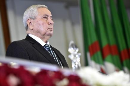 Algérie: Abdelkader Bensalah, nouveau président par intérim, promet «un scrutin présidentiel transparent etrégulier»