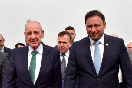 Liban : le président du Parlement accuse Israël de « convoiter ses eaux»