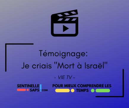 One for Israel:Daryoosh: Je criais « Mort àisraël!»