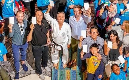 Première participation d'Israël à la Journée du sport pour la paix del'ONU