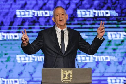 """Impasse politique: Bleu Blanc appelle Netanyahou à """"libérerIsraël"""""""