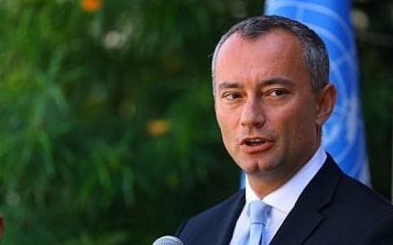 Mladenov : c'est « la dernière chance » d'empêcher un conflit ouvert àGaza
