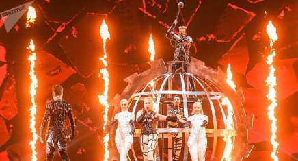 L'Islande risque d'être disqualifiée de l'Eurovision en raison de drapeaux palestiniens endirect