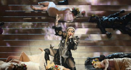 Pour une ministre israélienne, Madonna a commis une «erreur» àl'Eurovision