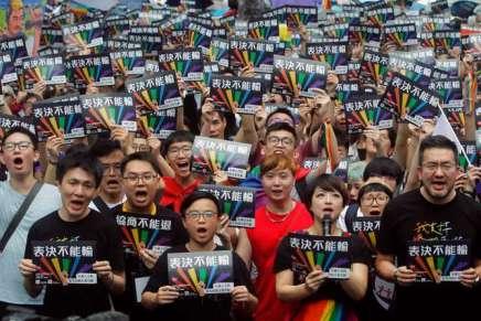 Taïwan légalise le mariage homosexuel, une première enAsie