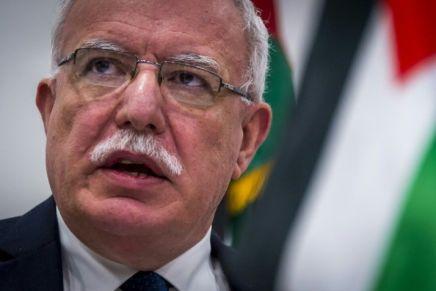 «Accepter le plan de paix des Etats-Unis est un acte de capitulation» (RiyadAl-Maliki)
