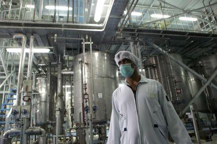 L'Iran multiplie par quatre le taux d'enrichissement del'uranium