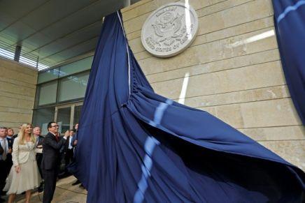Il y a un an jour pour jour se tenait la cérémonie d'inauguration de l'ambassade US àJérusalem