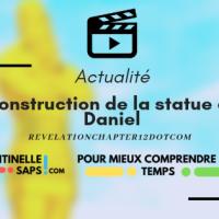 Construction de la statue de Daniel