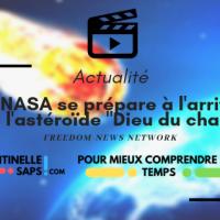 """La NASA se prépare à l'arrivée de l'astéroïde """"Dieu du chaos"""""""