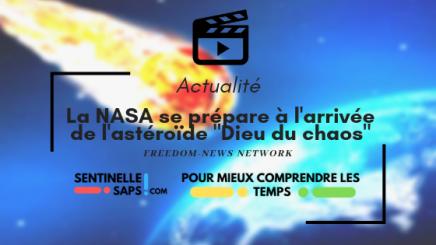 La NASA se prépare à l'arrivée de l'astéroïde «Dieu du chaos»