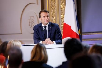 Conférence de presse de Macron : «Finalement, on va faire comme j'avais dit…»