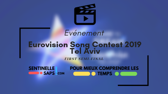 Eurovision Song Contest 2019 – First Semi-Final /Rediffusion