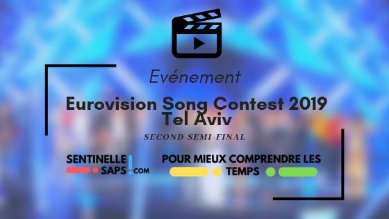 Eurovision Song Contest 2019 – Second Semi-Final –Rediffusion
