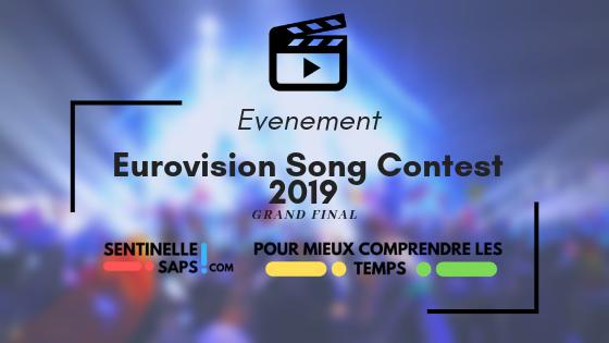 Eurovision Song Contest 2019 – Grand Final –Rediffusion