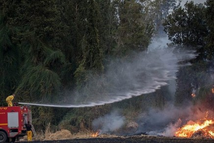 Les températures devant exploser, Israël se prépare à de nouveauxincendies