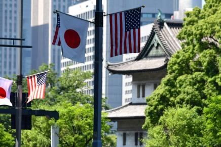 Tremblement de terre à Tokyo juste avant l'arrivée de DonaldTrump
