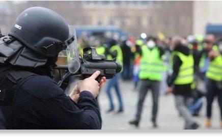 Macron rejette les critiques par l'ONU des violences policières contre les « gilets jaunes»