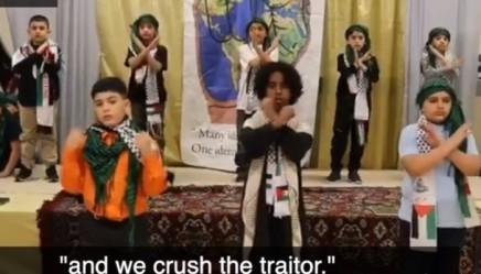 Des enfants d'une école musulmane de Philadelphie chantent « décapitons les infidèles », et ils souhaitent voir couler le « sang des martyrs»