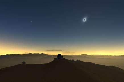 L'éclipse solaire totale du 2 juillet en direct depuis les observatoires d'Amérique duSud