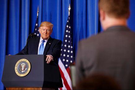 Conflit israélo-palestinien: «s'il n'y a pas d'accord lors de mon mandat, il n'y en aura jamais» (Trump)