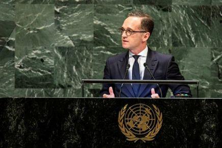 La solution à deux Etats, seule issue au conflit israélo-palestinien pourBerlin