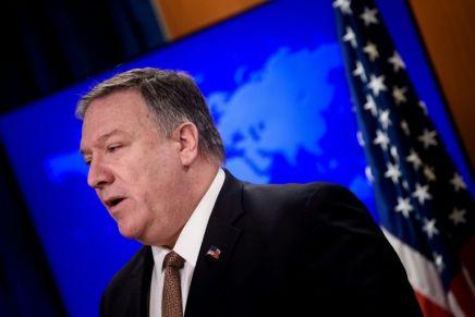 Plan de paix au Proche-Orient: Pompeo redoute un accueilsceptique