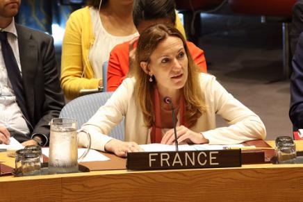 """La France à l'ONU : """"Nous ne reconnaissons aucune souveraineté israélienne surJérusalem"""""""