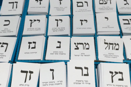 Israël: les élections du 17 septembre pourraient finalement ne pas avoirlieu