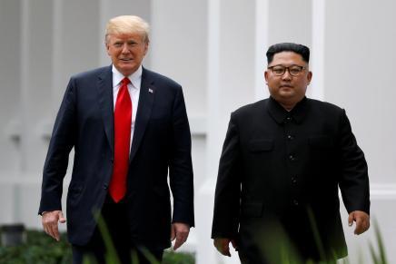 Rencontre entre Trump et Kim Jung Un à la frontière des deuxCorées