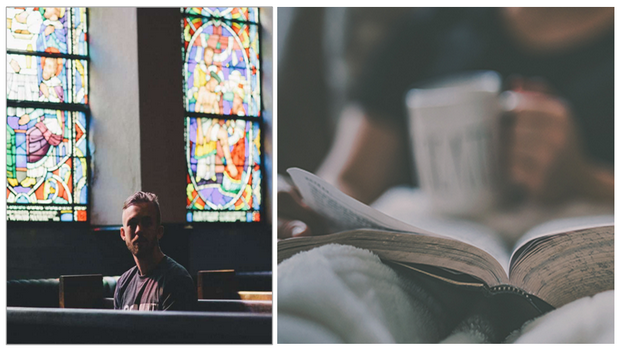 Reposez-vous sur Dieu, pas sur l'église catholiqueromaine
