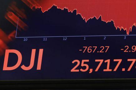 Le Dow Jones au plus bas depuis le début de l'année. Une récession est-elle en gestation auxUSA?