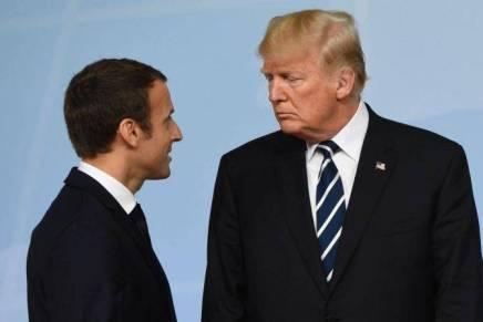 Trump reproche à Macron de parler à l'Iran au nom desEtats-Unis