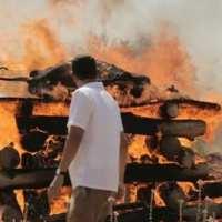 L'incinération d'une génisse a eu  lieu en préparation de la construction du troisième temple