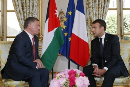Promesse de Netanyahu / Vallée du Jourdain : Macron et Abdallah IIinquiets