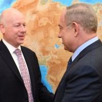 """Greenblatt s'est entretenu vendredi avec Gantz et Netanyahu sur le """"Deal of the Century"""""""
