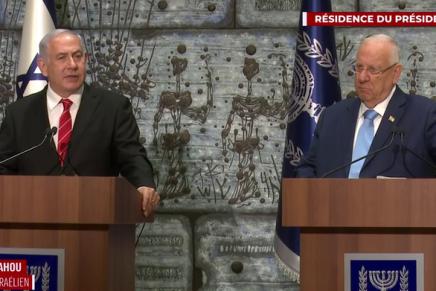 Israël : le président Rivlin mandate Benyamin Netanyahou pour former legouvernement