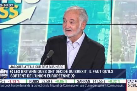 Dette, liquidité, inflation… Jacques Attali met en garde contre les «facteurs de désordre extrême»