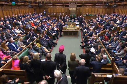 Brexit : samedi sous haute tension au Parlementbritannique